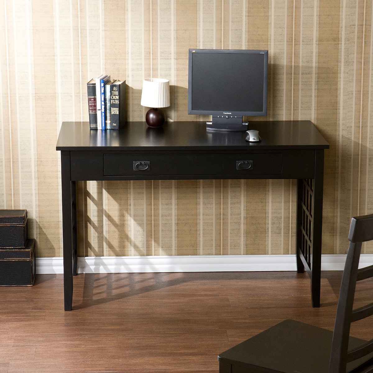 Laticce Computer Desk with Drawer from SEI