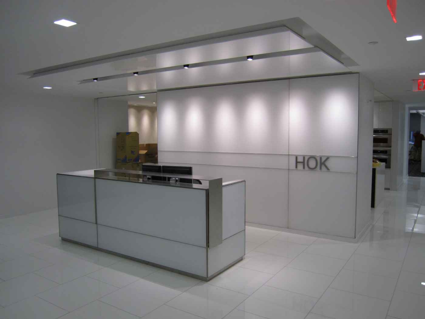 Ikea reception desk ideas and design for Modern office area