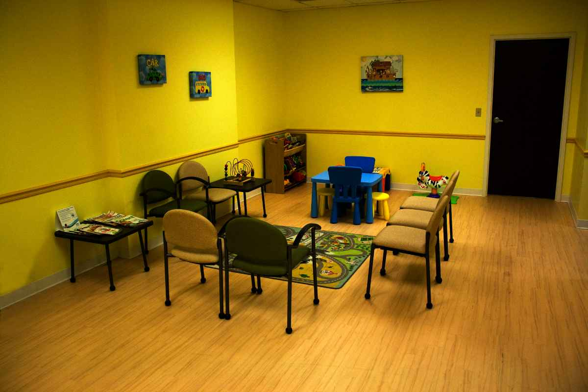 Pediatric Waiting Room Furniture Design
