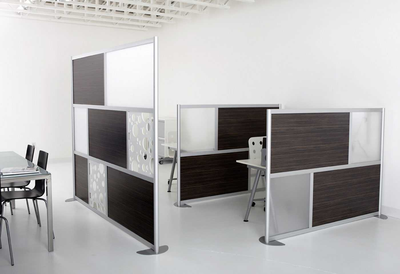 loftwall modern desk screen divider design