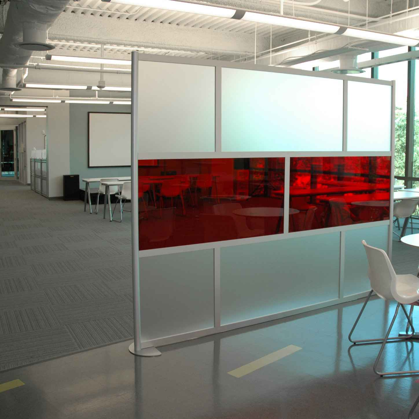loftwall modular desk screens partitions