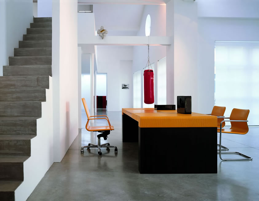 Italian Home Office Desk and Chair Design