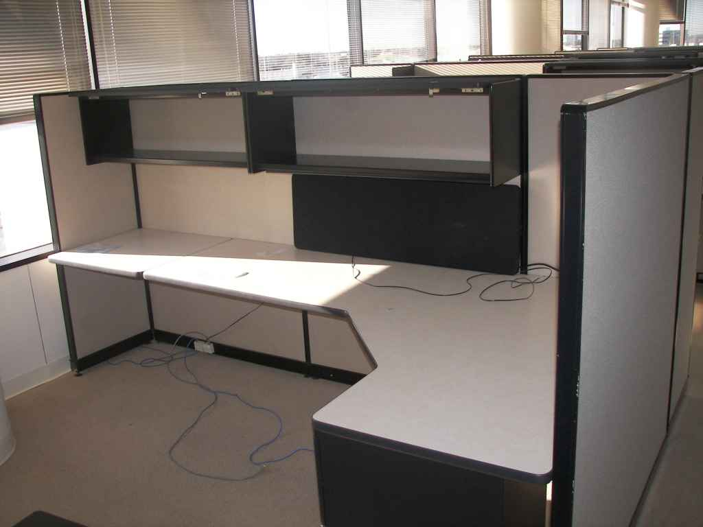 Office furniture cubicle planning layout and design Office cubicle design ideas