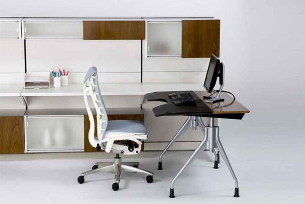 Simple and elegant home office furniture set