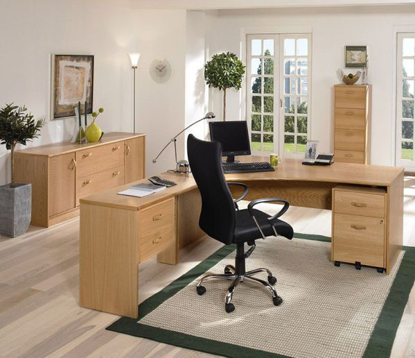 Refreshing the interior with contemporary home office for Modern home office furniture collections
