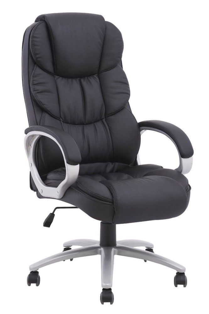 High Back Executive Pu Leather Ergonomic Office Desk