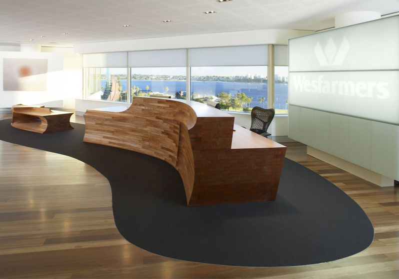 Executive Modern Wooden Reception Desk Collections