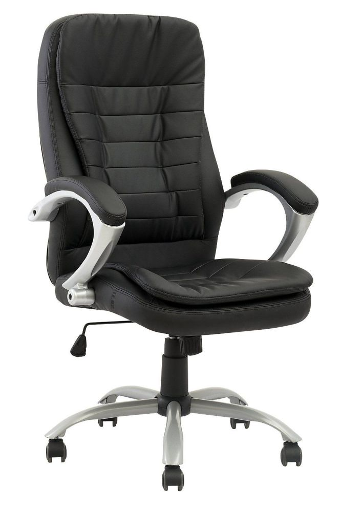 High Back Executive Pu Leather Ergonomic Office Desk Computer Chair