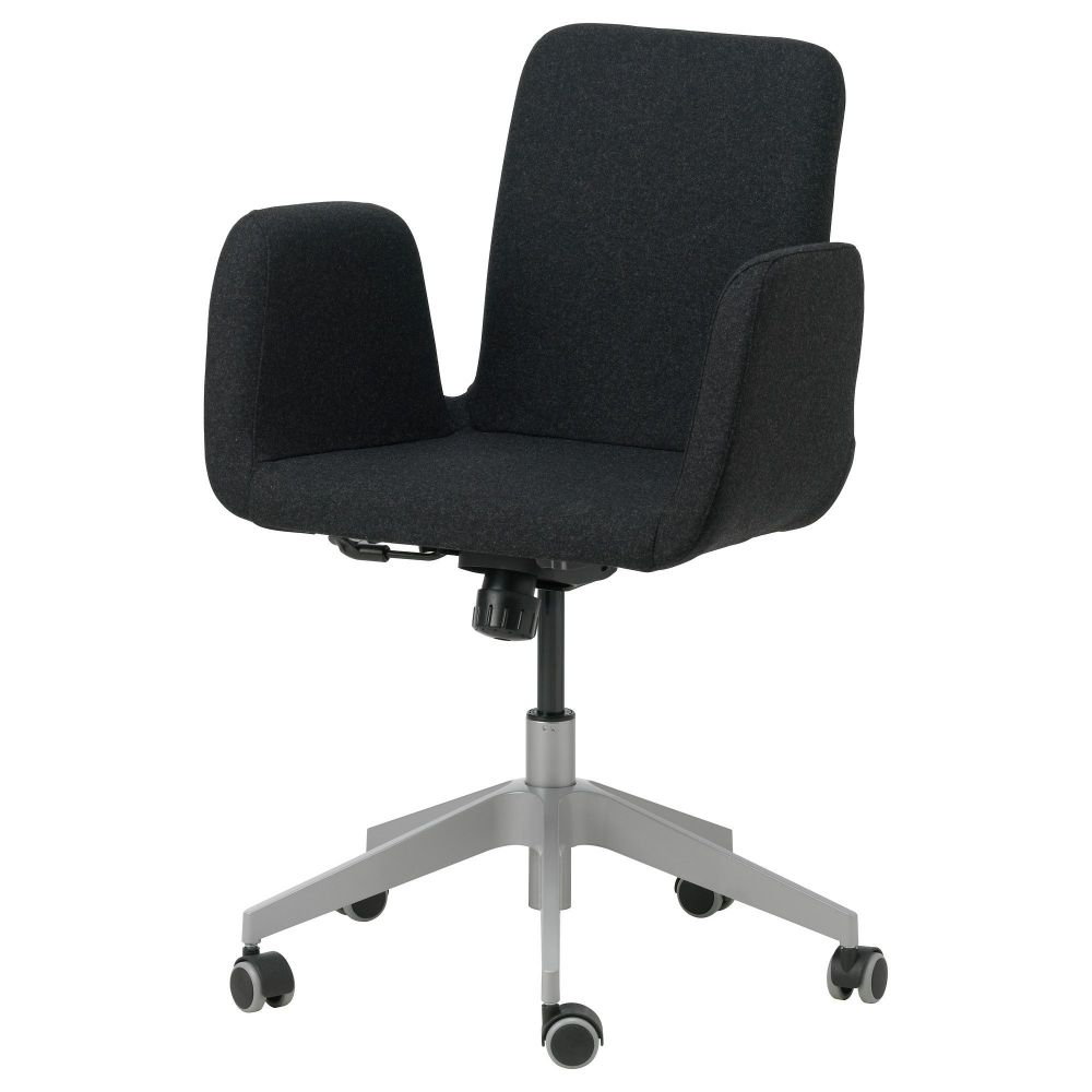 Ikea patrik offce swivel chair ultuna dark gray