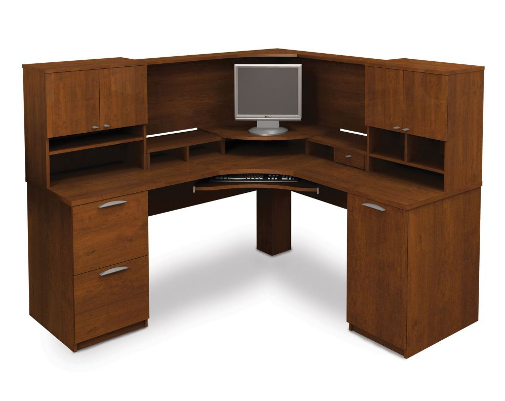 Large corner desk home office decorating schemes for Huge corner desk