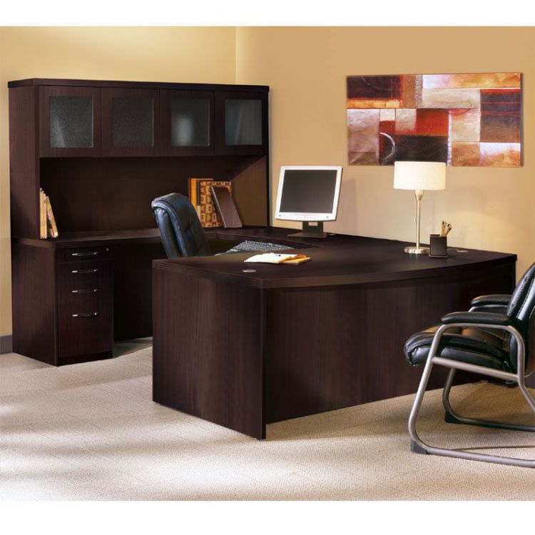 Black Executive Desk Home Office Furniture For Elegance
