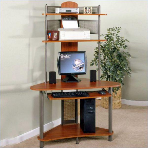 RTA vertical corner computer desk