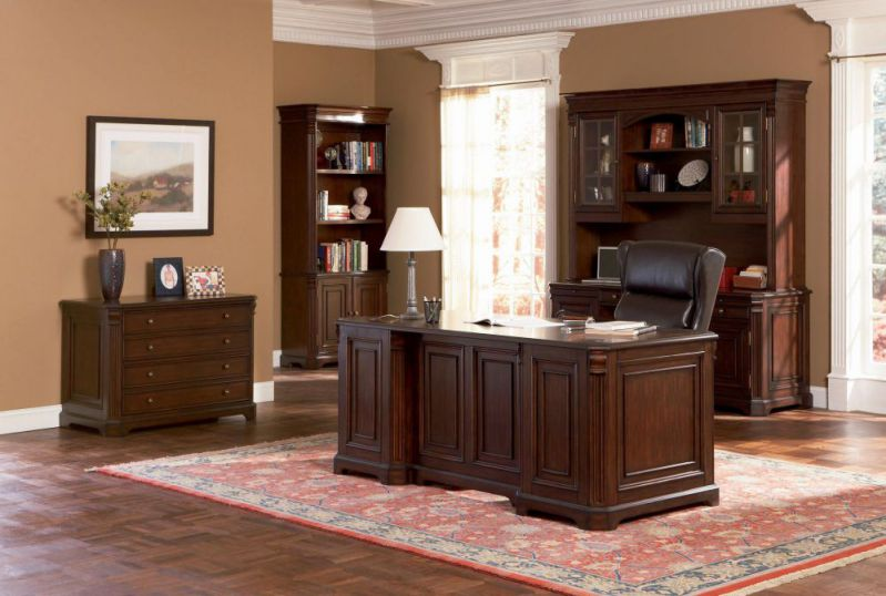 Wooden High-Class Home Office Furniture Desk Set