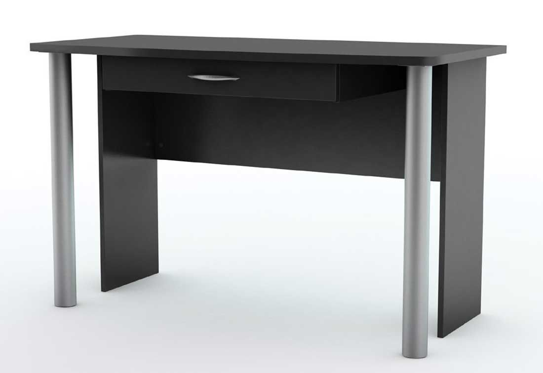 black contemporary desk design