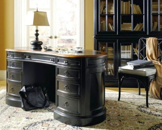 black office furniture collections