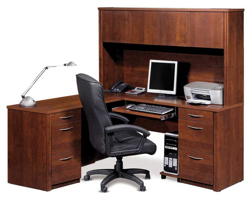 Choosing most appropriate executive office furniture collections - Home office desk furniture sets ...