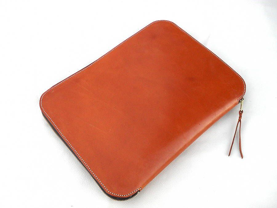 leather document holder for men