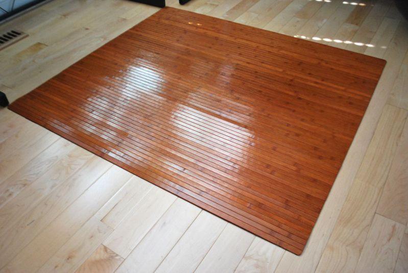 modern and stylish carpet bamboo chair mats