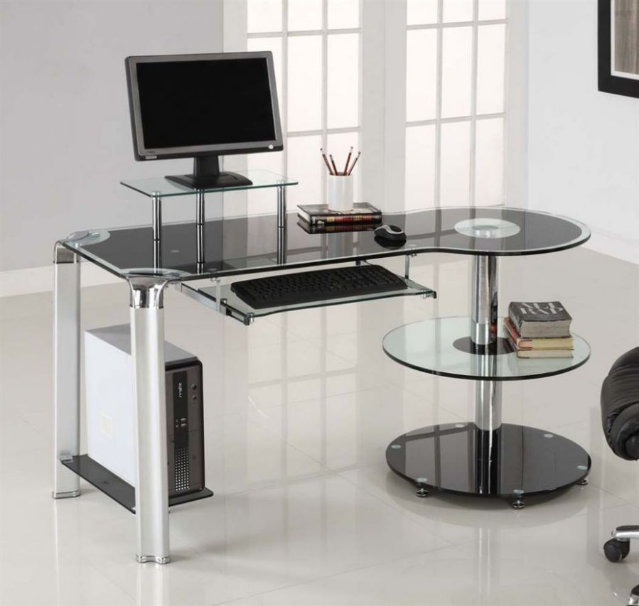 Narrow desks for small spaces saving for Desk small office space desk