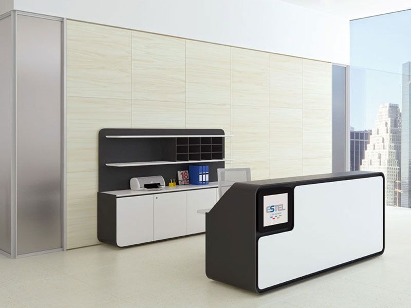 office reception desk furniture set