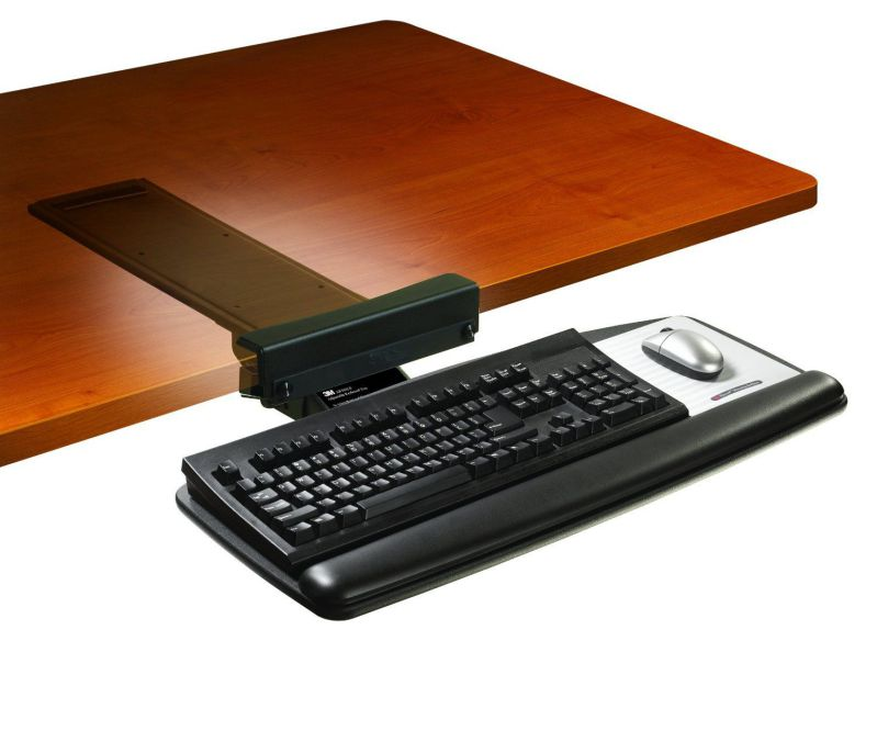 Portable Keyboard Tray For Your Modern Cubicle
