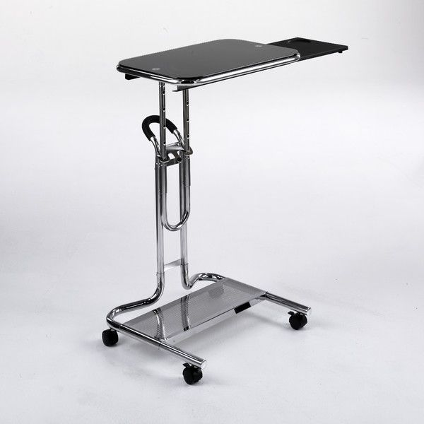 Adjustable Laptop Cart with Mouse Pad by Studio Designs