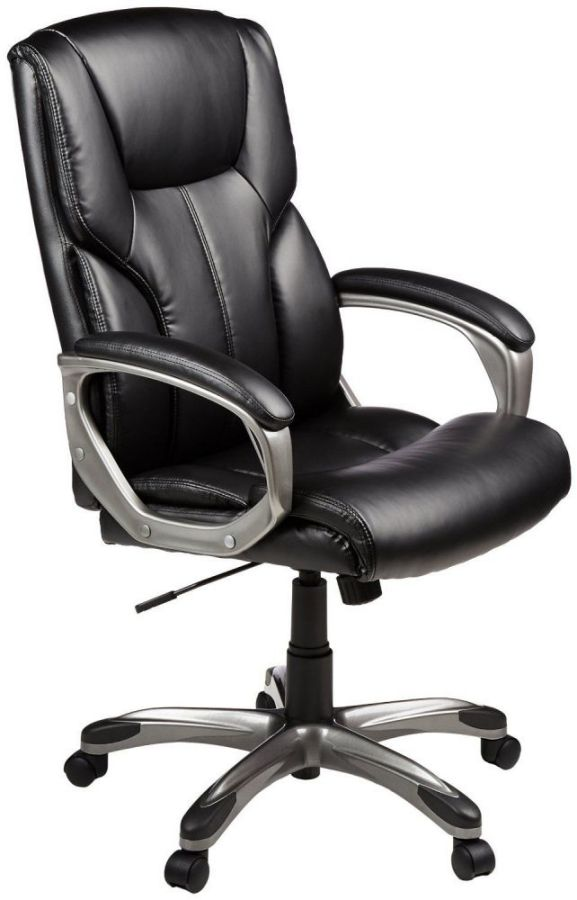 AmazonBasics High-Back Black Executive Chair