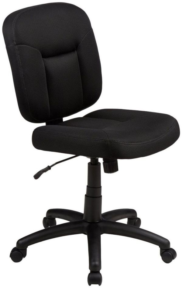 AmazonBasics Low-Back Black Task Chair