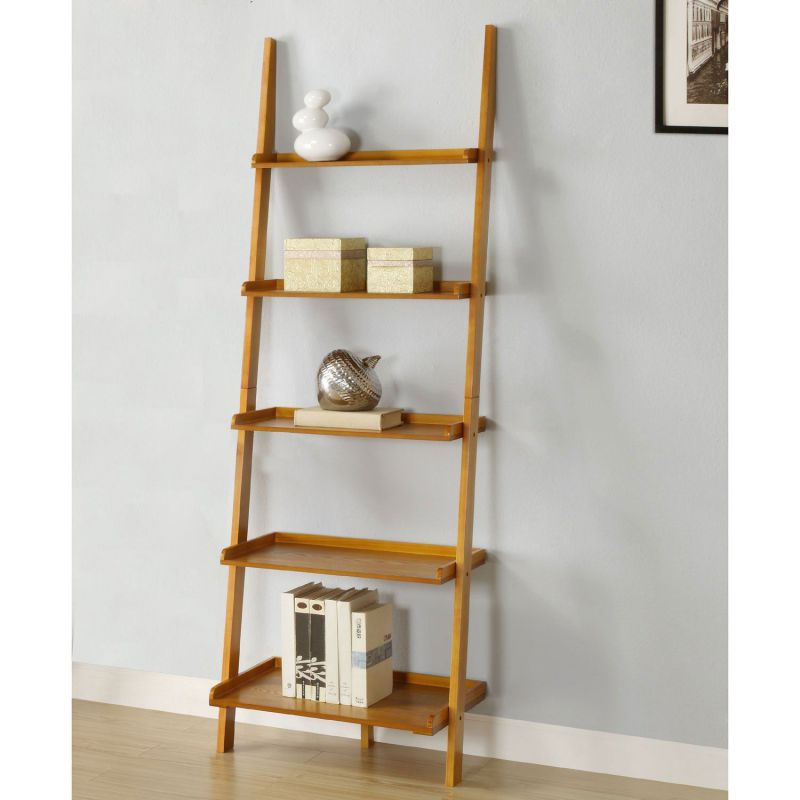 Leaning Ladder Shelf Plans Tips And Products