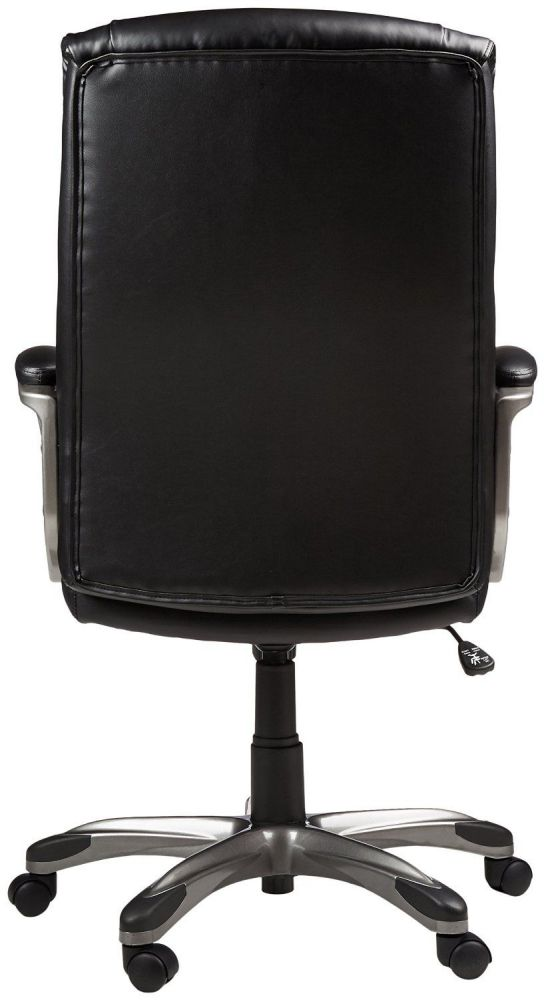 Back of High-Back Executive Chair