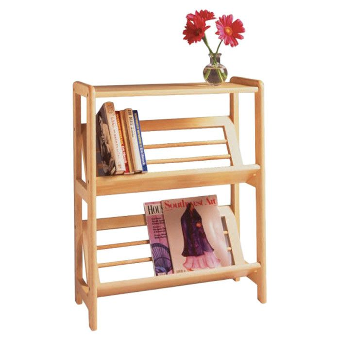 Basics Tilted 30-inch Standard Bookcase by Winsome