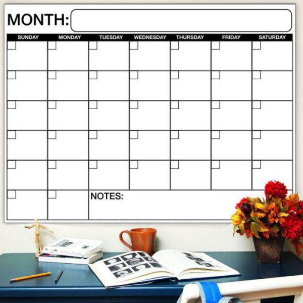 Best jumbo dry erase wall calendar