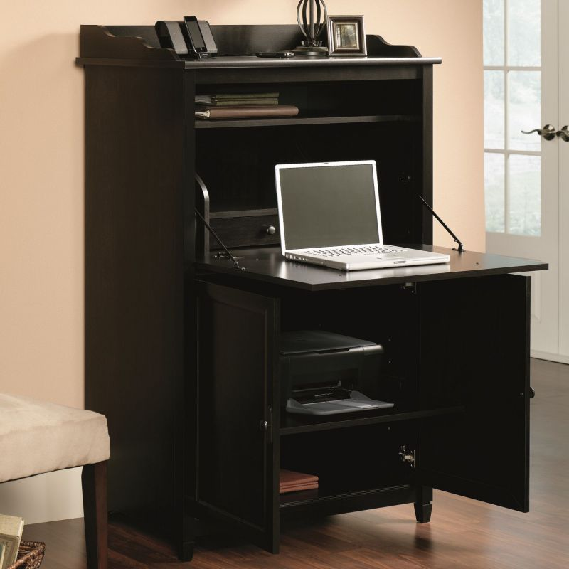 Edge Water Desk Armoire by Sauder
