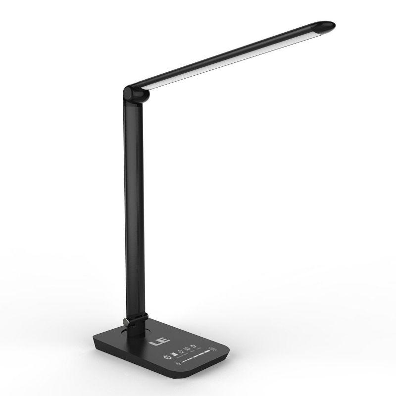 le dimmable led desk lamp table lamps 3 modes. Black Bedroom Furniture Sets. Home Design Ideas