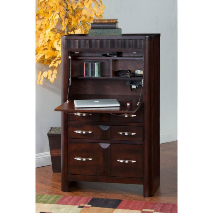 Monterey Laptop Armoire by Sunny Designs