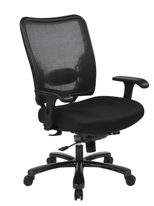 Office Star 7537A773 Space Air Grid Executive Big and Tall Chair