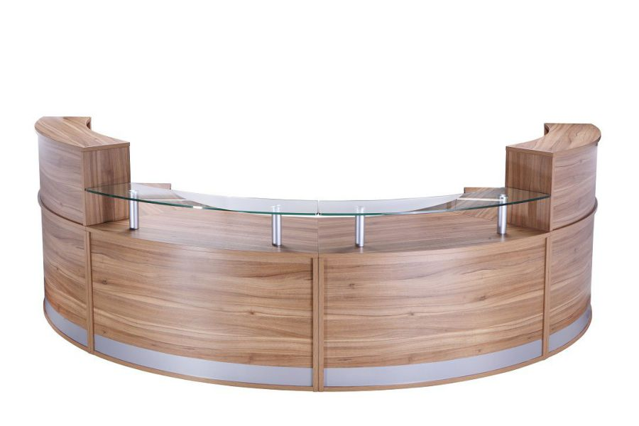 President Reception Desk - American Black Walnut