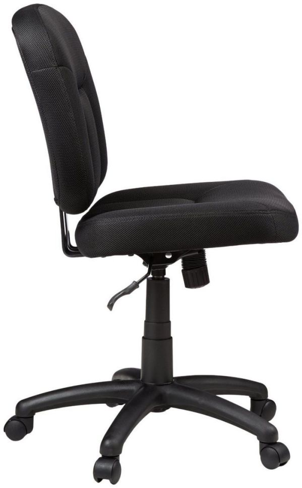 Side View of AmazonBasics Low-Back Task Chair