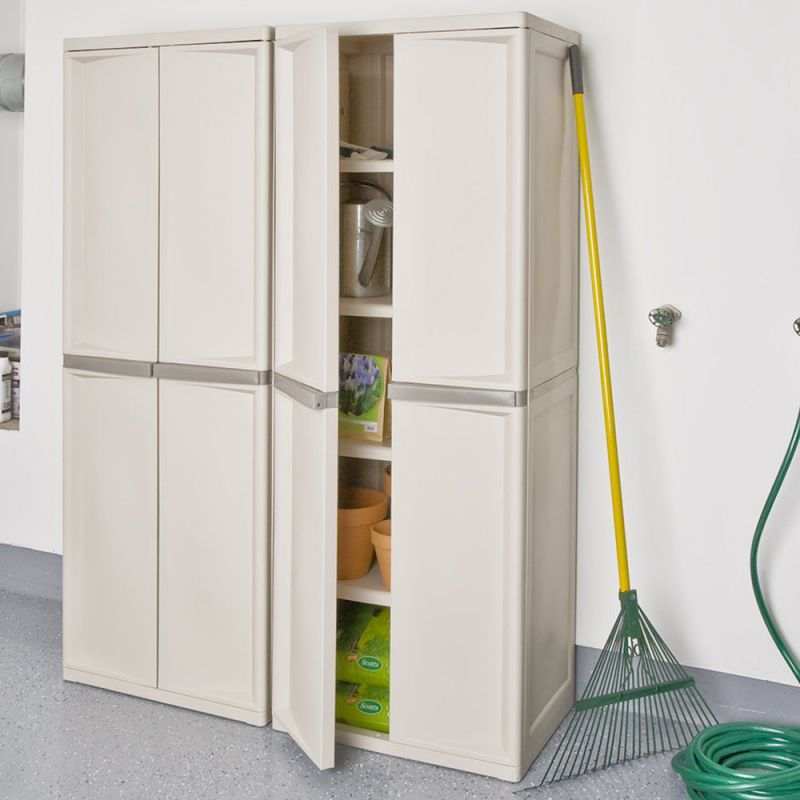 Image Result For Sterilite Shelf Utility Storage Cabinet Putty