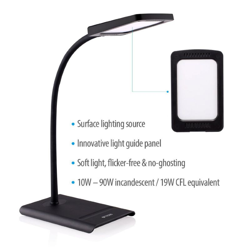 TROND Halo 10W Dimmable Eye-Care LED Desk Lamp