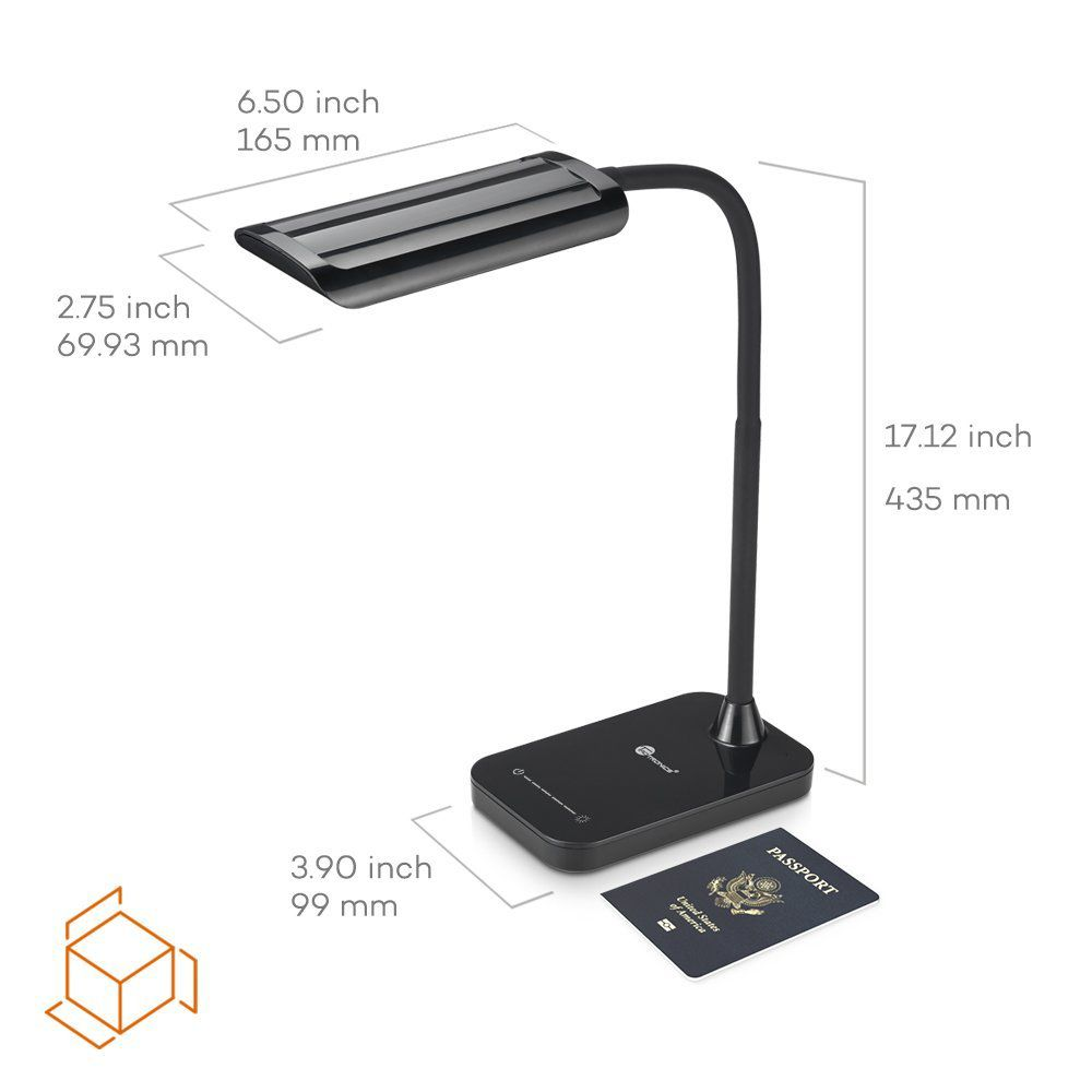 TaoTronics LED Desk Lamp, Gooseneck Table Lamp