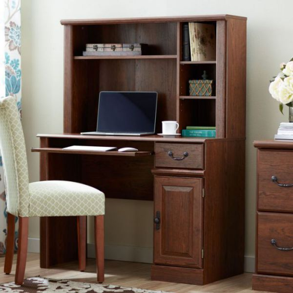 Three Posts Bauman Computer Desk with Hutch