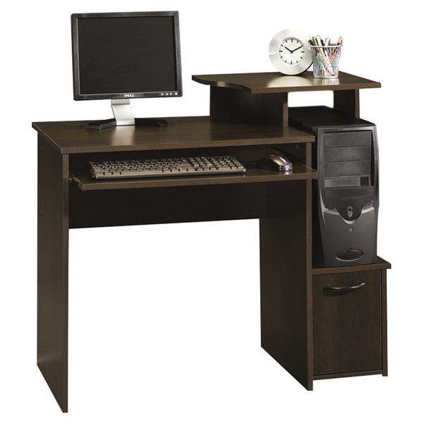Beginnings 40-inch Sauder Computer Desk Cinnamon Cherry