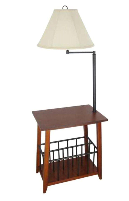 Legacy Home LTD Berkley Magazine Rack Lamp