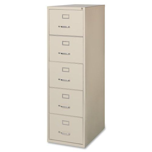 Lorell Commercial Grade Pty Legal Size Vert Files-Vertical File Cabinet
