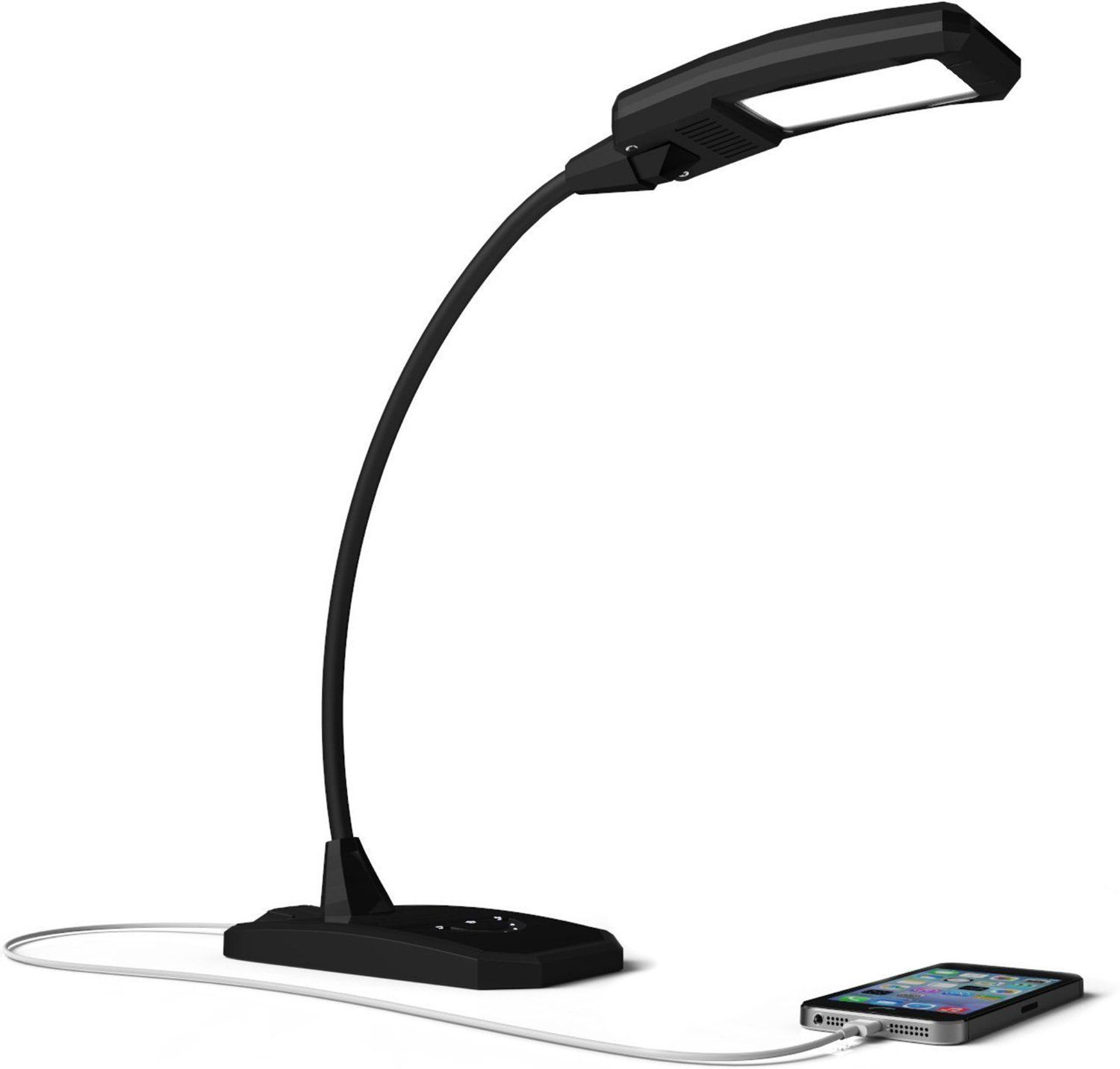 Desk Lamp With Usb Port To Charge Mobile Devices