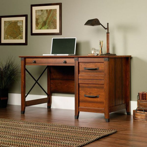 Highly Charming Mission Style Computer Desk For You