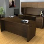 Bestar Office Furniture Design with Built In Storage