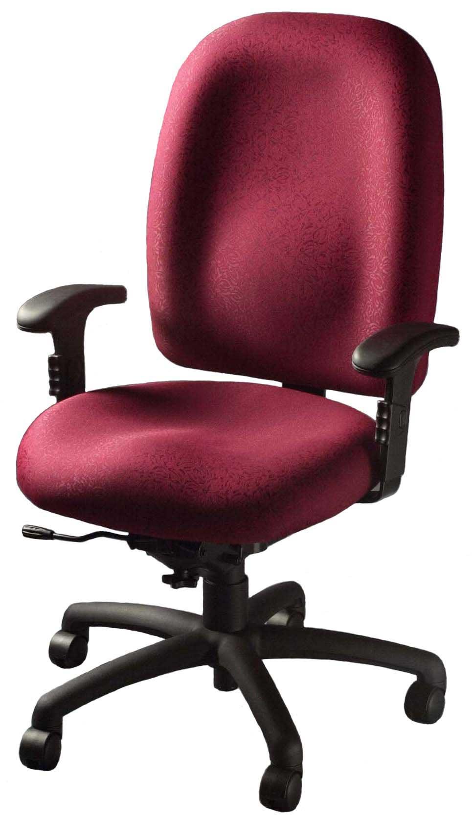 Pink Desktop Office Chairs