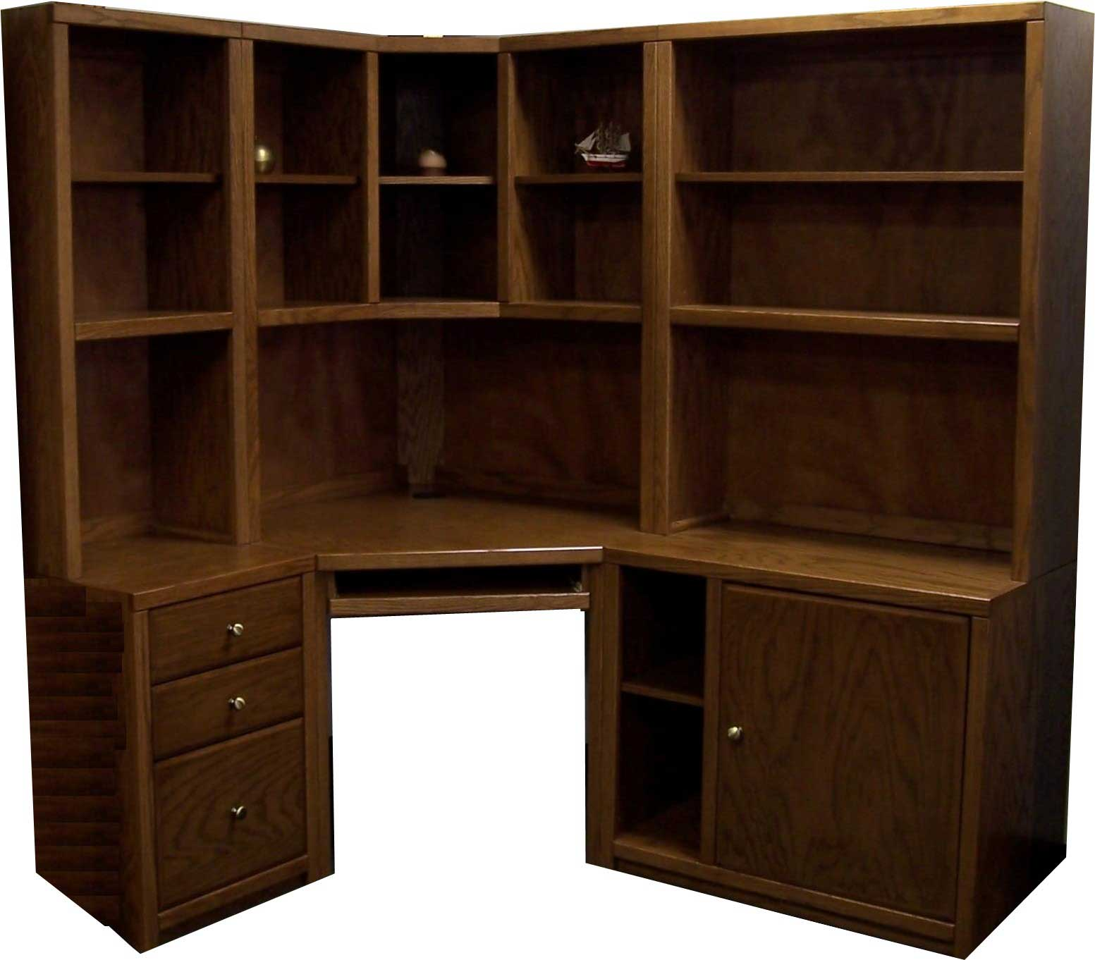 Accent Woodworking 9 Compartements Oak Workstation Desks Design